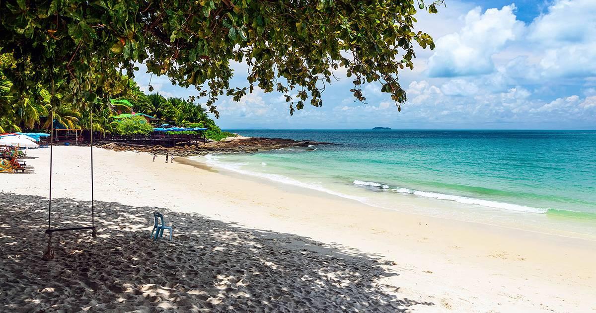 Острова около Паттайи